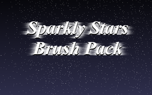 Sparkly Stars Brush Pack by RadiantStar4