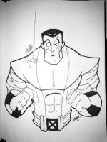 Colossus Comission by AndrewJHarmon