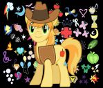 Braeburn of the Apples by SondowverDarKRose