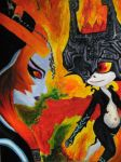 Twili and imp Midna by bug-xx