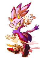 Collab - Blaze the cat by Omiza
