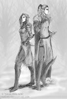 Elvancyro Elves by Lumaris