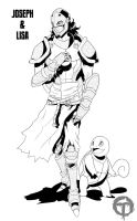 Commission 10222012a - Joseph the Knight by pyrasterran