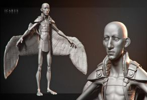 Icarus wip by DuncanFraser
