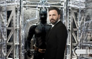 DC Universe - Ben Affleck Putting on the Batsuit by Nayias01