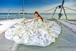 Bride on a yacht by Raz1n