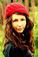 hannah red hat by SourDuck