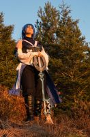 Guardian of Light - Aqua cosplay by Grenier-Illiane
