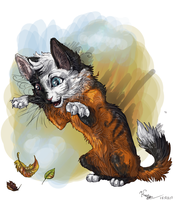 Autumn coms by Ali-zarina