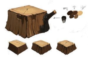 Study - Wood by georgecatalin93