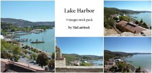 Lake Harbor - 4 Images Stock Pack by XiuLanStock