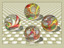 Glass Marbles by dmschenk