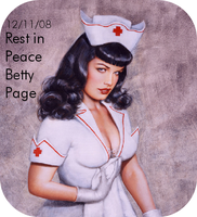 Rest in Peace Betty Page by prettylady