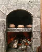 Medieval Bakery (Oven Details) by AtriellMe