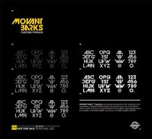 MOVANT BARKS Typeface by shadyau