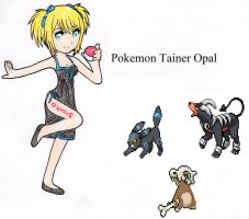Opal's trainer card by SwimFree