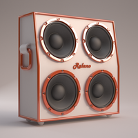 Speaker Cabinet by AnthonyRalano