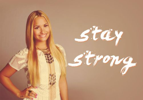 {staystrong} by ijustbelieveinme