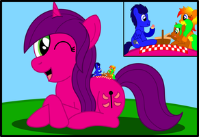 ATG Week 193 - Picnic On A Pony by Speedy526745