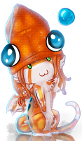 Squid hat by Quelux
