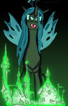 Queen Chrysalis - Changeling Queen by Shiki01