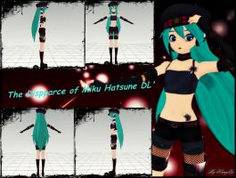 The Dispparce of Miku Hatsune - DL' by KamyXx