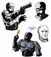 Robocop Studies by KR-Whalen