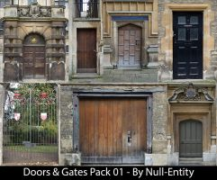 Doors & Gates Pack 01 by Null-Entity