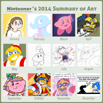 2014 Summary of Art by Nintooner