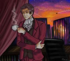 Miles Edgeworth by tracypaper12