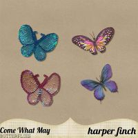 Come What May Butterflies by harperfinch
