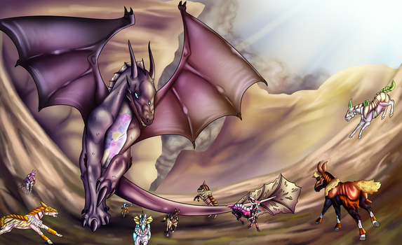 Gonna be the Very Best - Dragon Hunt 2016 by ValiantShadow
