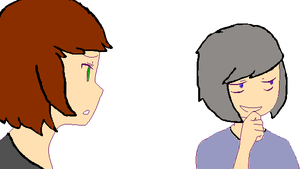 OHOHOHOHO THEY HAVE DIFFERENT HAIRSTYLES NAO by DrugstheAddict