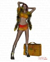 Travelin' Girl - for The Tart by vaia