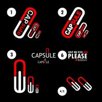 capsule logo by rushgfx