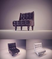 Armchair - 8/C4D by Klaudio2U
