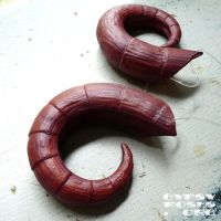 Custom, in stock, Aries horns by che4u