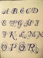 more calligraphy by Artlover20111