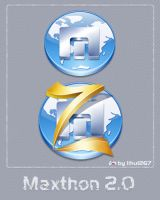 Maxthon 2.0 Icon by lihu1267