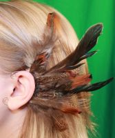 Feather Ear Cuff by Kilalaflames