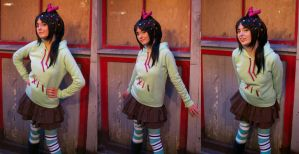 Vanellope von Schweetz: Sugary Little Outlaw by AnyaPanda