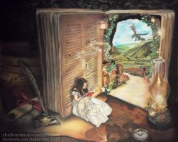 Book of Secrets by ChalkTwins
