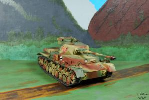 Panzer IV H front by 12jack12