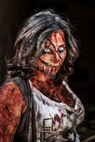 Female Zombie by dknight2000