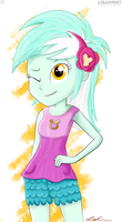 Lyra Heartstrings (EG: Rainbow Rocks) by LISAN1997