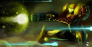 Samus vs... Round 2 by ShadowMKII