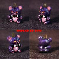 Monster Bear Charm pendant by Undead-Art