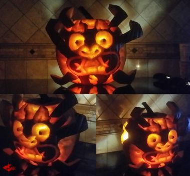 Aku Pumpkin by Gi1t