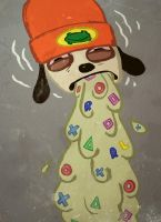Parappa Messup by GlennAugust