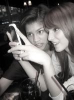 On my phone :D by Bella--and--Zendaya